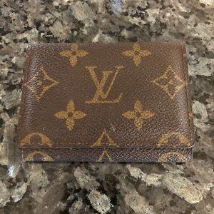 Authentic Louis Vuitton Credit Card Holder NWOT